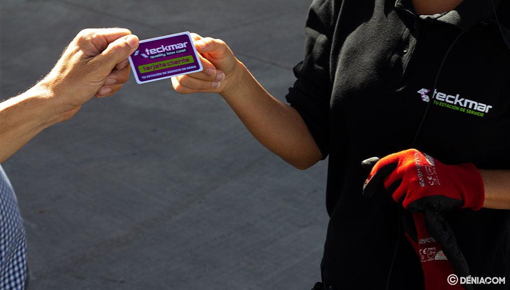 Ventajas de tener la tarjeta cliente de Gasolineras Teckmar en Dénia