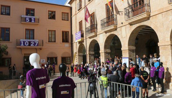 Imagen: Acto del Día contra la Violencia de Género