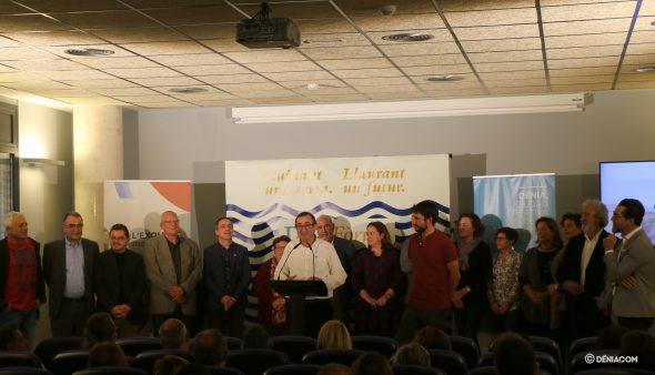 Imatge: Alcaldes i organitzadors de l'D * na