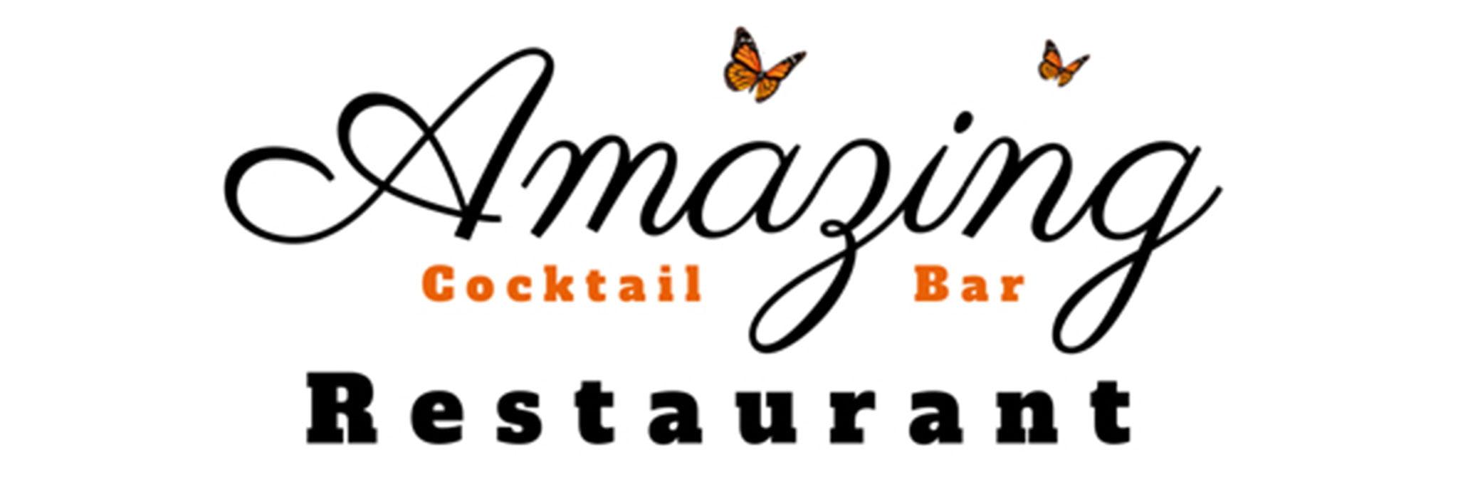Удивительный логотип ресторана