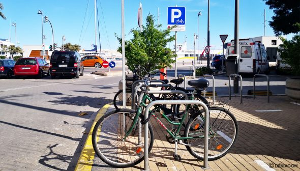 Image: Bike park at the end of Marqués de Campo in Dénia, thanks to Participatory Budgets