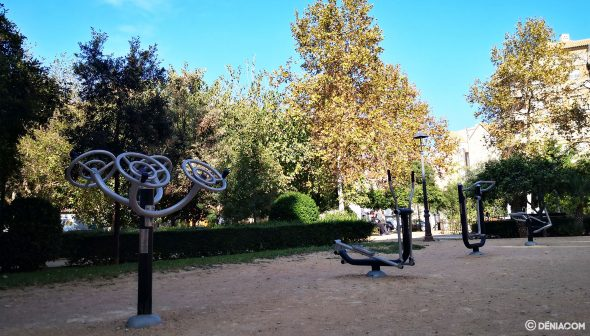 Image: Biosaludable area of Parc Chabás in Dénia, thanks to Participatory Budgets