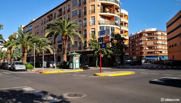 Image: Reasphalting the section of the Paseo del Saladar between Pedreguer street and Jaume I square