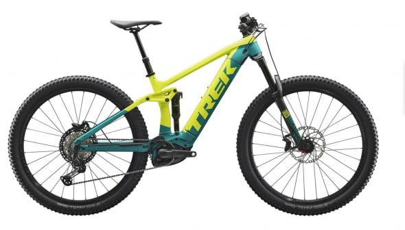 Bild: Trek Rail elektrisches Mountainbike - Extrem Cicles