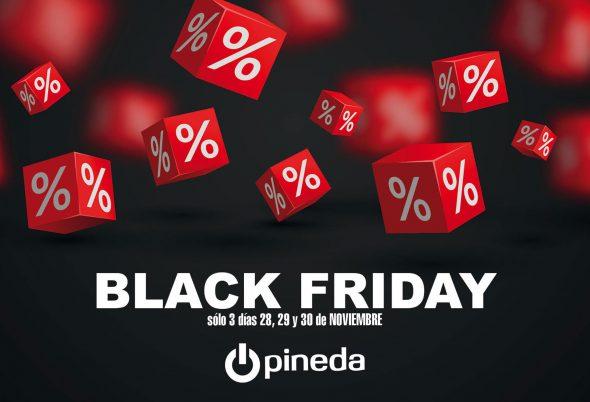 Imagen: Llega el Black Friday a Electrodomésticos Pineda