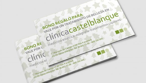 Imagen: Bono regalo de Clínica Estética Castelblanque