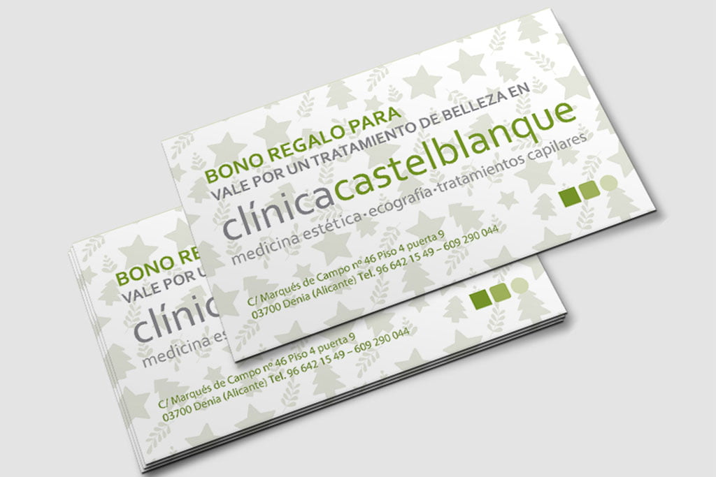 Подарочный сертификат на эстетическое лечение в клинике эстетической медицины Castelblanque