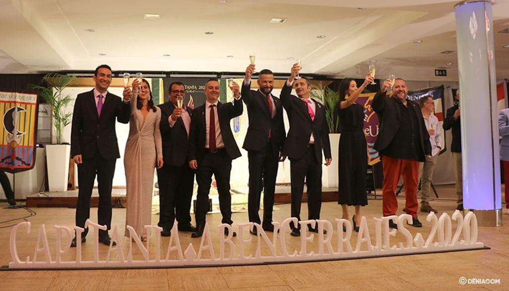 Brindis de las Capitanías y la presidencia de la FEMMICC