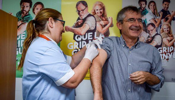 Immagine: campagna di vaccinazione antinfluenzale