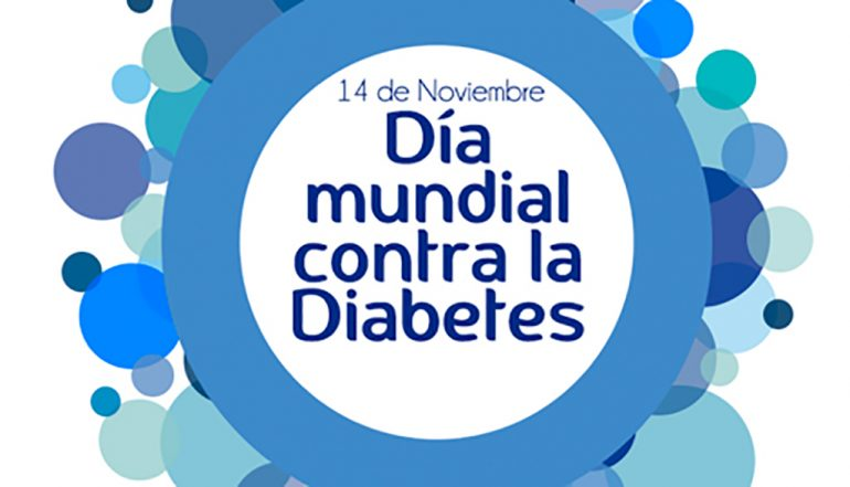 Cartel Día Mundial contra la diabetes