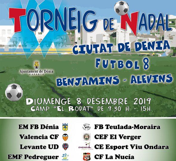 Imagen: Cartel XX Trofeo Navidad Fútbol 8