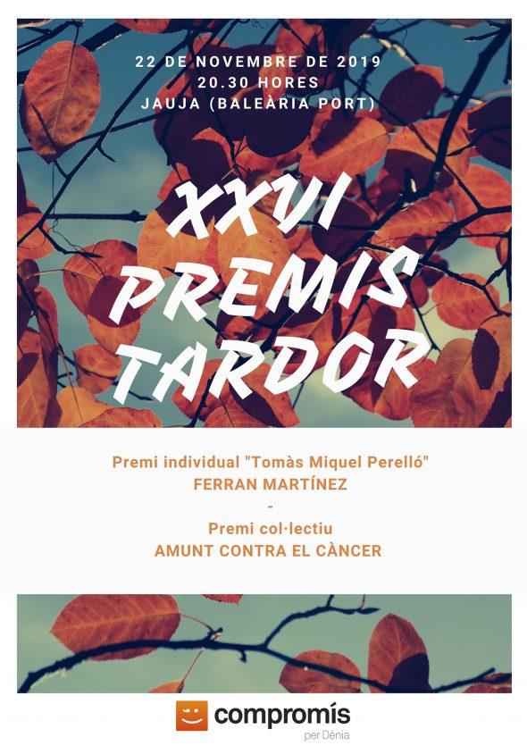 Bild: Plakat XXVI Premis Tardor