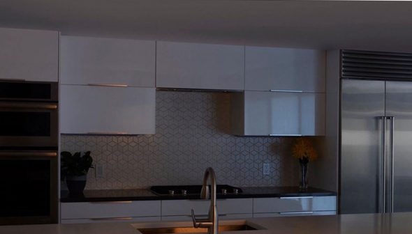 Image: Before lighting a kitchen with Solatube Levante