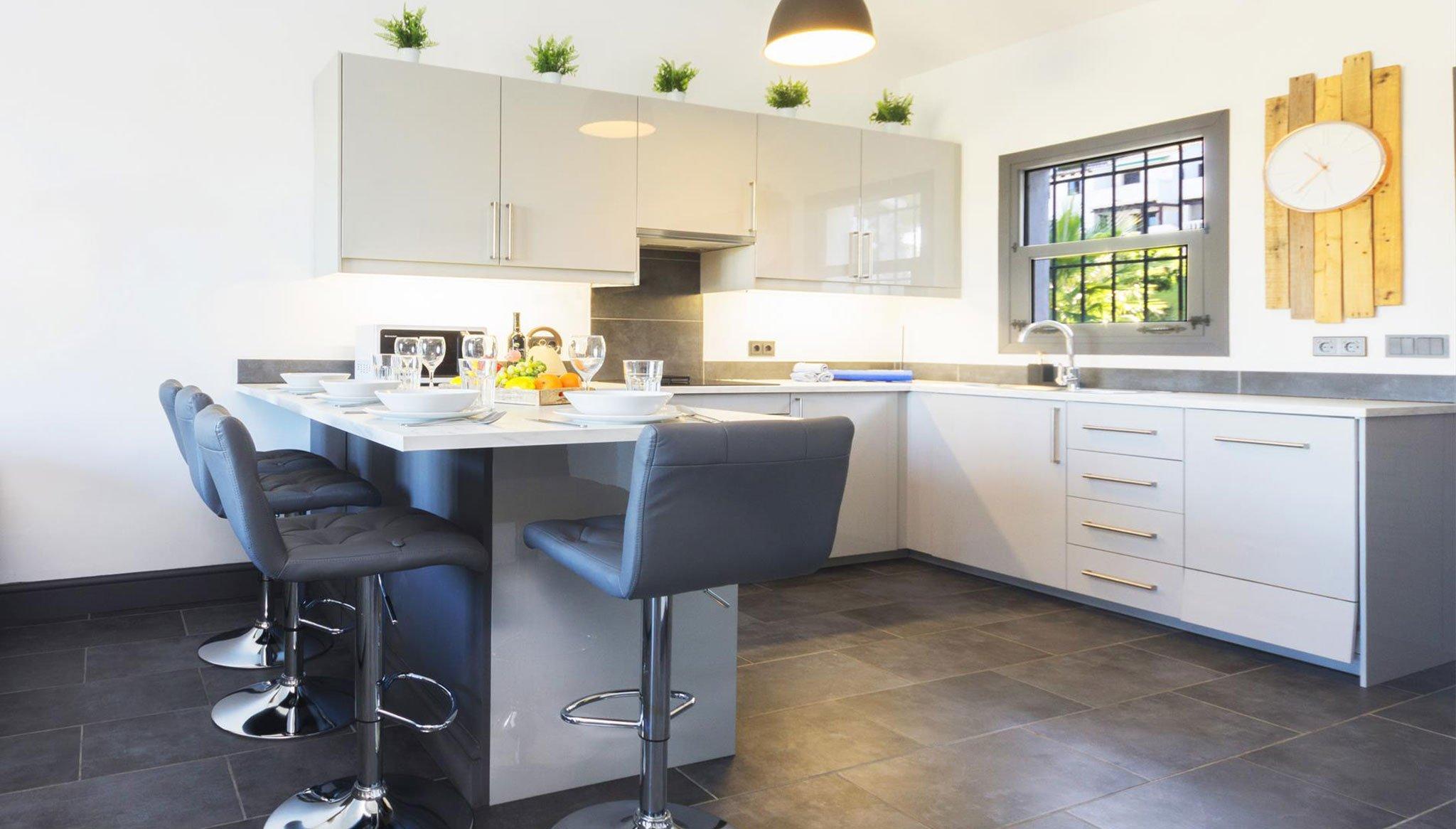 Cuina d'apartament de vacances a Moraira - Aguila Rent a Vila