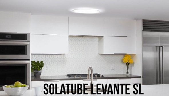 Image: After lighting a kitchen with Solatube Levante