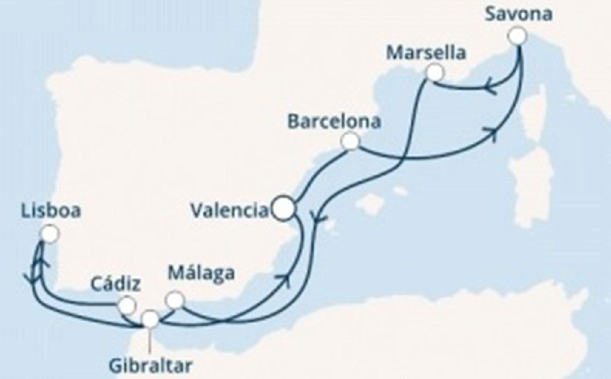 Crucero Costa Fascinosa – Falken Tours
