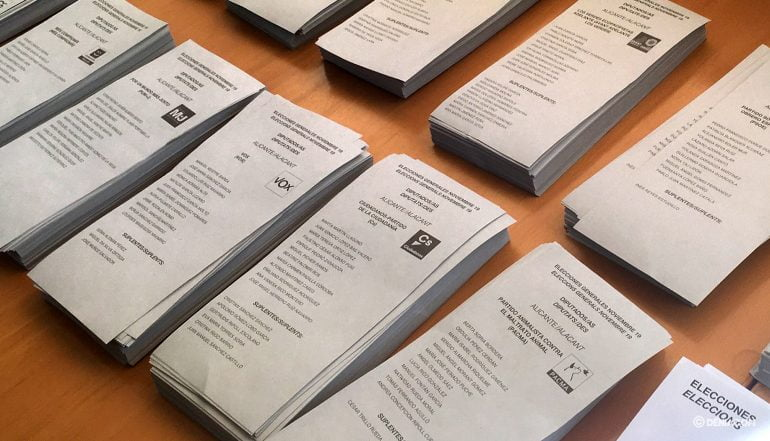 Elecciones 10N en Dénia