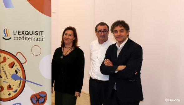 Imatge: Francesc Colomer durant la presentació de l'D * NA Fòrum