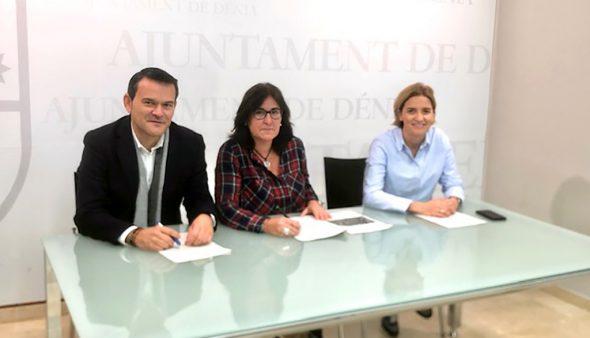 Imagem: Grupo municipal PP na conferência de imprensa