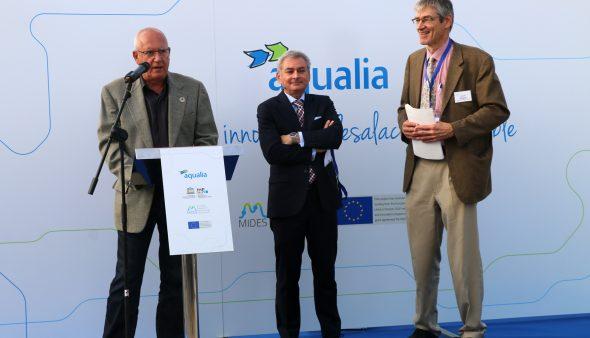Imagen: Inauguracion del Centro de Innovación de Aqualia