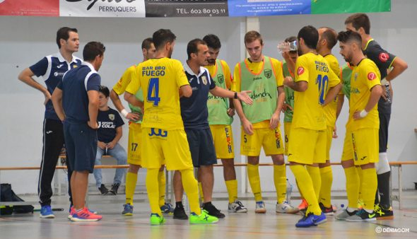 Imatge: Jordi Duran amb els seus homes