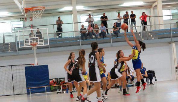 Image: Lancement du basket d'une junior Dianense