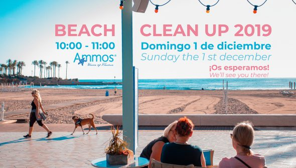 Image: Event committed to cleaning the Arenal beach by the restaurant Ammos