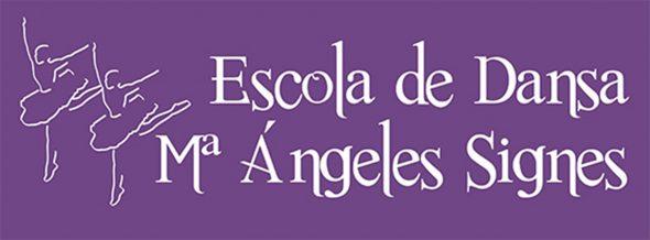 Image: logo Escola de Dansa Mª Ángeles Signes