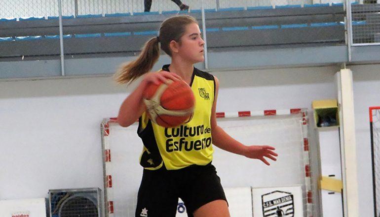 Martina Gil pendant un match