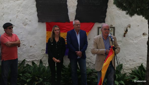 Image: Matías Alonso, coordinator of the Group for the Historical Memory of Valencia