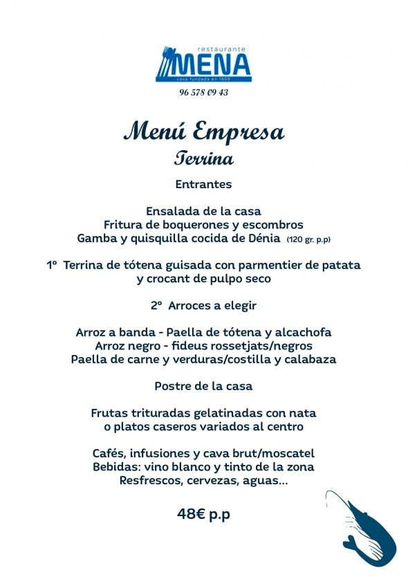 Image: menu-of-company-terrina-restaurant-mena