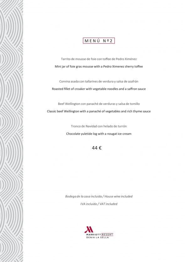 Imagen: Menú de empresa por 44 euros - Hotel Dénia Marriott La Sella Golf Reosrt & Spa