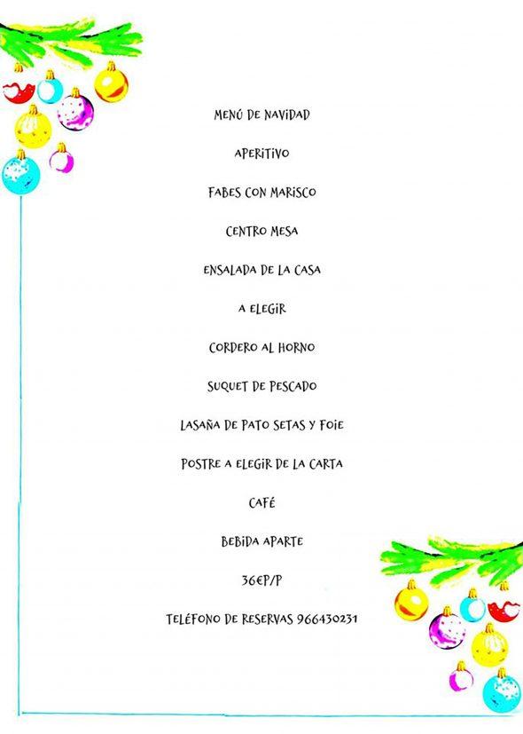 Imagen: Menú de Navidad en Dénia - Sandunga 52
