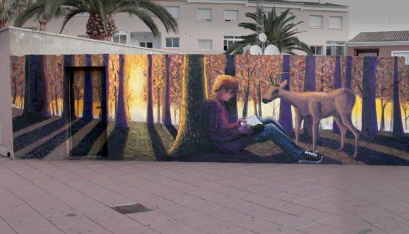 Imagen: Mural de La Xara