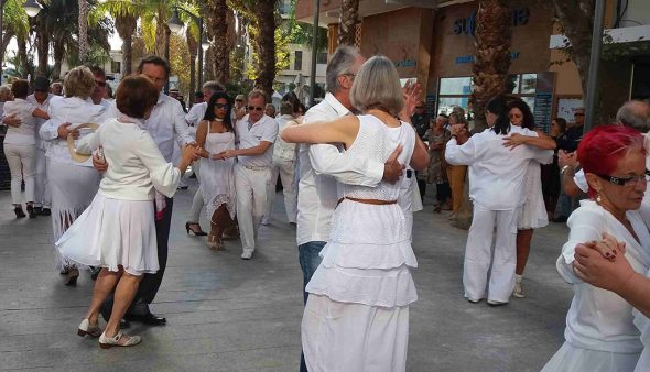 Image: Participants of the Tango Festival