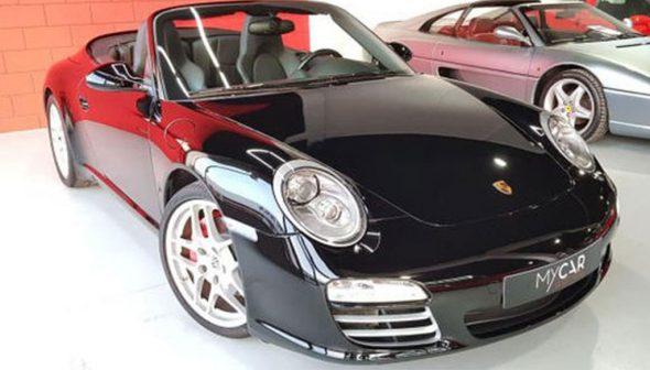 Image: Porsche 911 Carrera S Cabrio - MY CAR Select Auto
