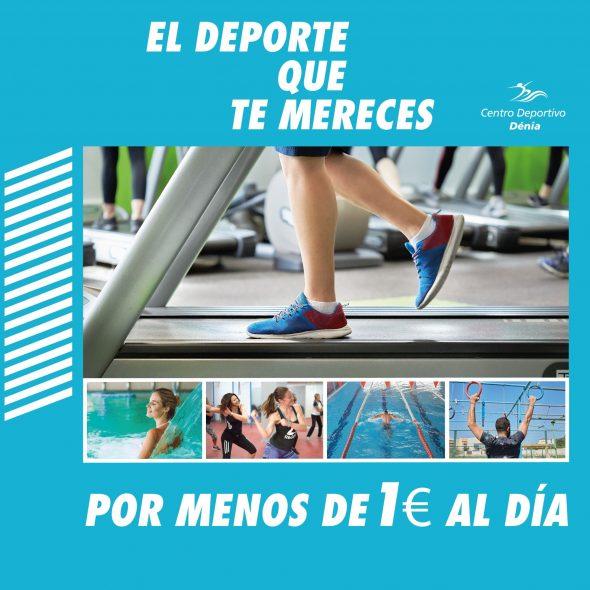Imatge: Les millors instal·lacions esportives de Dénia per menys de 1 euro a el dia - Centre Esportiu Dénia
