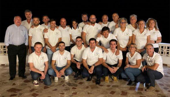 Imagen: Remeros de los tres equipos del Club Rem Marina Dénia