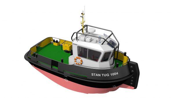 Imagen: Remolcador modelo Stan Tug 1004
