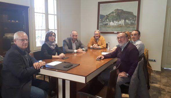 Imatge: Reunió entre Cedma i l'Ajuntament