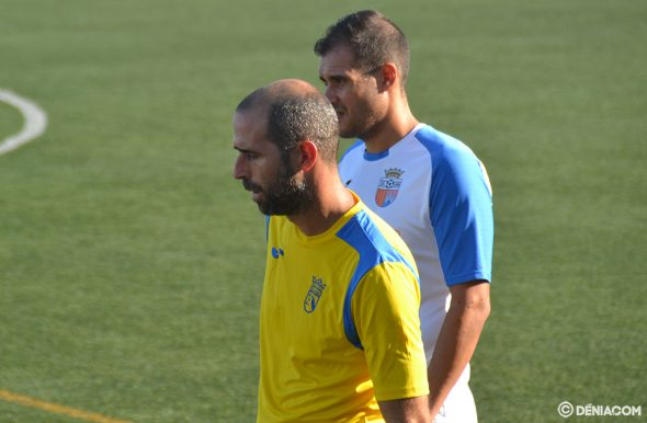 Imatge: Roberto Navarro durant un partit