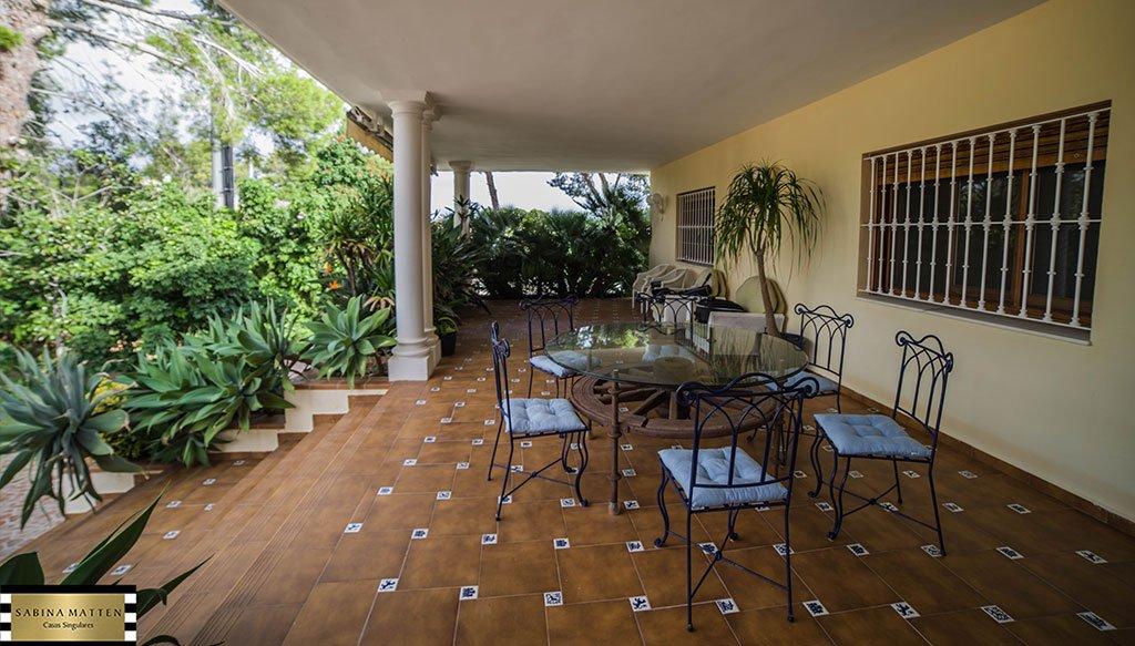Terrassa de xalet en venda a Les Rotes - Cases Singulars