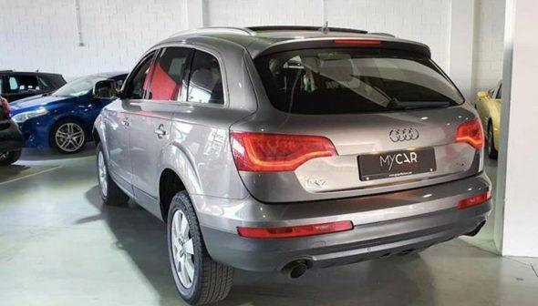 Imagen: Trasera Audi Q7 - MY CAR Select Autos