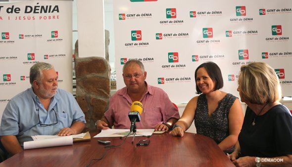 Imagen: Vidal en rueda de prensa