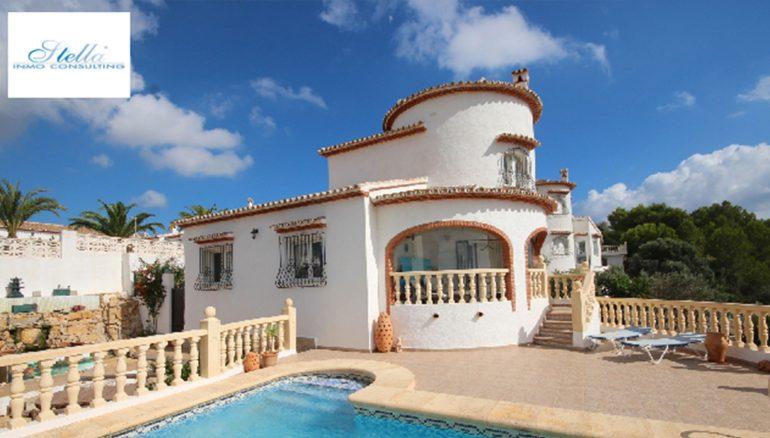Vista generale in una villa in vendita a Monte Pedreguer - Stella Inmo Consulting