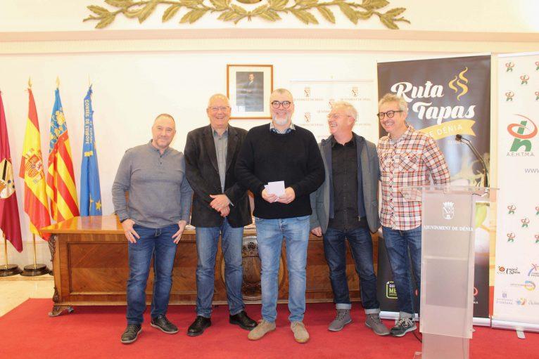 Gagnants de la XVe Route des Tapas de Dénia