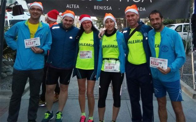 Image: Athletes of Dénia Run in Teulada