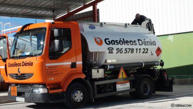 Imagen: Camión de Gasóleos Dénia