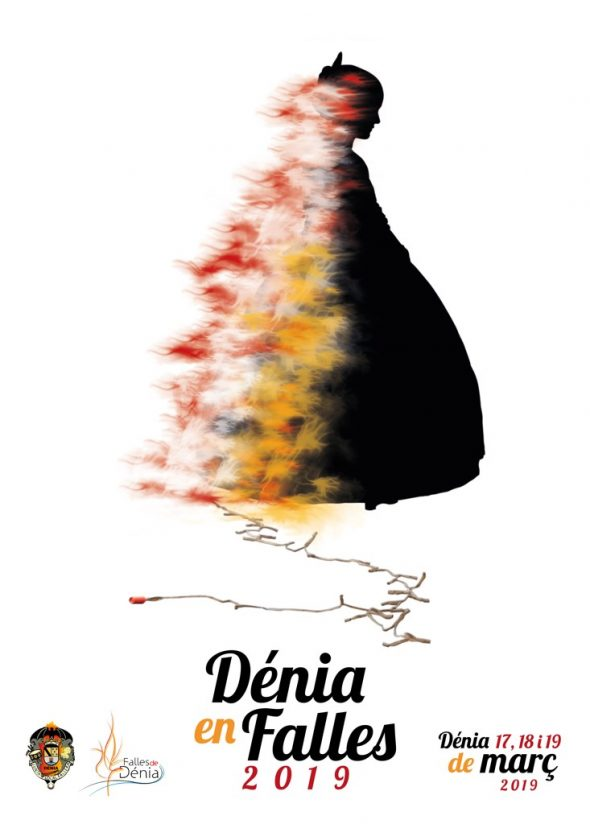Imagen: Cartel de Fallas Dénia 2019