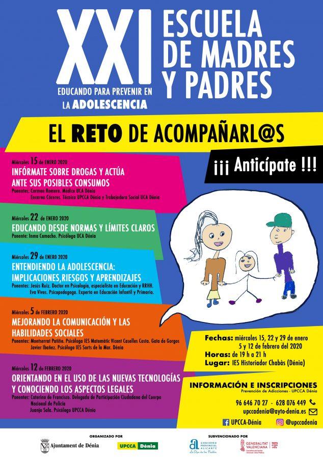 Immagine: Poster della scuola per madri e padri